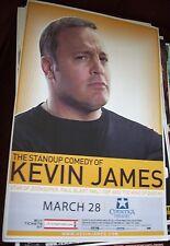 KEVIN JAMES    PHOENIX AZ  LIVE  CONCERT POSTER 17 X 11  BOXING STYLE