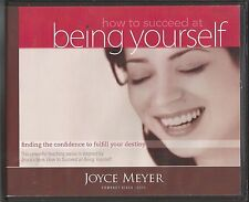 HOW TO SUCCEED AT BEING YOURSELF   4 CDs      Joyce Meyer