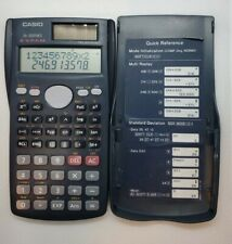 Casio Fx-300Ms Scientific solar Calculator with cover Svpam Two Way Power