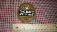 1950s DANISH BEER LABEL, URBAN BREWERY AALBORG DENMARK, DANISH BEER