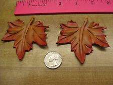 Leather Leaf Sew on or Necklace ( New Item )