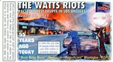 COVERSCAPE computer designed 55th anniversary of the Watts Riots event cover