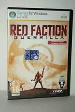 RED FACTION GUERRILLA GIOCO USATO PC DVD VERSIONE ITALIANA GD1 53164