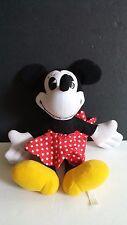 "Disneyland Walt Disney World Minnie Mouse Plush Stuffed Animal Doll 12"" Vintage"