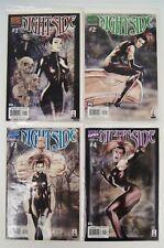 Set of 4 Marvel Comics Nightside Issues 1 2 3 4 FULL RUN Miniseries 2002 B5566
