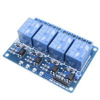 DC 12V 4 Channel Relay Module Optocoupler For Arduino ARM AVR DSP PIC HD23L