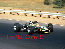 Jim Clark Lotus 49 Winner South African Grand Prix 1968 Photograph 2