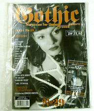 GOTHIC magazine & CD Issue 29 Goth Darkwave Wolfsheim HIM Corvus Corax RPb 18