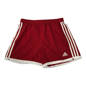 Adidas Boys Sports Shorts Red Size: Small Age: 8-10 Gym Activewear Summer