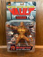 Stegron Vintage Marvel Super Villains The Vault Action Figure New 1998 Toybiz