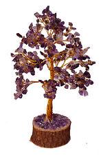 Amethyst Stone Spiritual Reiki Tree Table Décor Feng Shui Healing Crystal