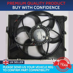 RADIATOR COOLING FAN ASSEMBLY TO FIT BMW 1 SERIES 3 SERIES E90 E91 X1 Z4