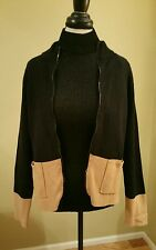 Chicos 2 Jacket Black and Tan