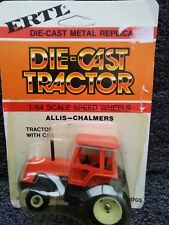 ALLIS CHALMERS ERTL DIE-CAST TRACTOR 1:64 SCALE METAL 1819 Tractor with Cab