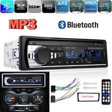 1 Din Autoradio USB Bluetooth FM Aux-In Auto MP3 Player + FERNBEDIENUNG Rahmen