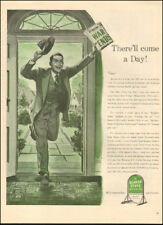 1944 Vintage ad for Quaker State Motor Oil`WWII era Man Suit  (021718)