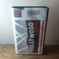 Under Pressure Hollywood Video VHS case 1999 Action Charlie Sheen movie rental
