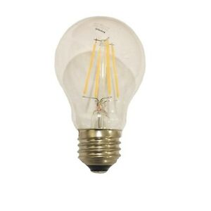 (2) LED A17 (40-Watts Equivalent) Soft White Clear Lens Dimmable Filament E26