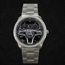 Custom 2016 AUDI TT Steering Wheel Instrument Cluster Stainless Steel Watch