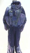 KAELIN Snow Suit Ski Bib Purple Vintage 80's Women's Winter Snowboard Size 6/36