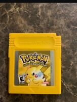 Pokemon Yellow Version GameBoy, 1999 Tested & Working , Battery Saves