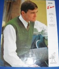 Emu Women/'s sweater Knitting pattern 3140