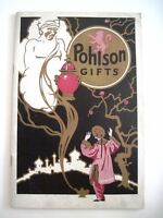 "Vintage ""Pohlson Gifts"" Catalog w/Picture of ""Aladdin & His Genie"" on The cover*"