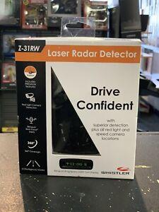 Whistler Z-31RW Laser Radar Detector 360 Degree Coverage   New! Free Shipping!