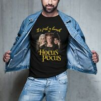 "Hocus Pocus Tshirt - ""It's Just A Bunch Of Hocus Pocus"" HALLOWEEN TSHIRT -Unisex"