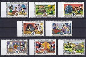 St.Vincent  1147 - 1154 **, Walt Disney - INDIA 89 - Neu Delhi (13 ME)