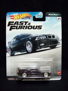 Hot Wheels Fast & Furious Euro Fast BMW E36.