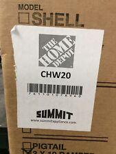 Summit 20� Convertible Under Cabinet Range Hood White Finish Chw20