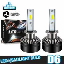 LED Headlight Kit H1 6000K White Bulb Low Beam 60W for ACURA RSX 2002-2006