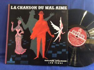LEO FERRE CHANSON MAL AIME ODX 168 ORIGINAL FRANCE LP EXC+