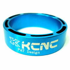 gobike88 KCNC Hollow Design Headset Spacer, 10mm, Blue, Made in Taiwan, 670