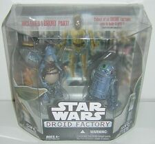 Star Wars Droid Factory 2 Pack Watto & R2-T0 Legacy Walmart Exclusive