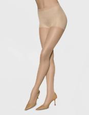 Leggs Sheer Energy Control Top Medium Support Leg Pantyhose Size B Nude *2 Pack