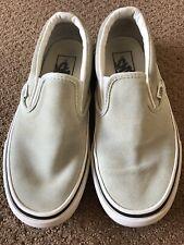 Vans Skateshoes Mint Green Slip On Sneakers Men 4 Women 5.5