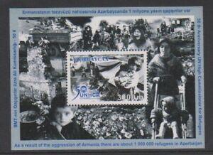 Azerbaijan - 2001 , Un Alto Commissioner Hoja - MNH - Sg MS504