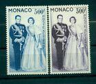 Monaco 1959 - Y & T n. 71/72 poste aerienne - Couple princier