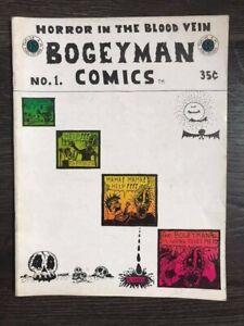 Bogeyman Comics #1 1968 1st print Rory Hayes underground San Francisco comic