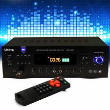 HiFi Verstärker 600 Watt Anlage MP3 USB Tuner Fernbedienung Liston AMP 8000 BT