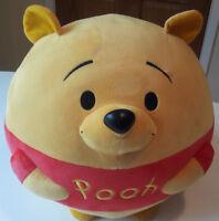 Ty - Disney - Large Round Plush Winnie the Pooh Soft Toy 33cm
