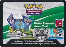 Pokemon BATTLE ARENA DECKS: Rayquaza VS Keldeo - 1X VIRTUAL CODE CARD Via Email