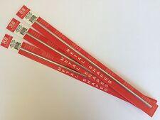 K&S ALLUMINIO METALLO TUBI 6,35 mm confezione da 3 x 305mm lunghezze ks8106