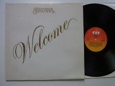 LP: Santana: Welcome (CBS 32194)