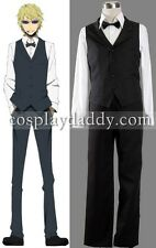 Durarara Shizuo Heiwajima Outfit Cosplay Costume 1st