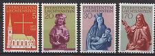 LIECHTENSTEIN 1966 MNH SC.416/419 Restoration Vaduz Parish Church