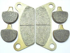 Front Rear Brake Pads For Harley Davidson FLT FLHT FLHTCI 1984-1985 Brakes set