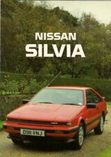 Nissan Silvia 1.8 Turbo ZX 1987-88 UK Market Sales Brochure